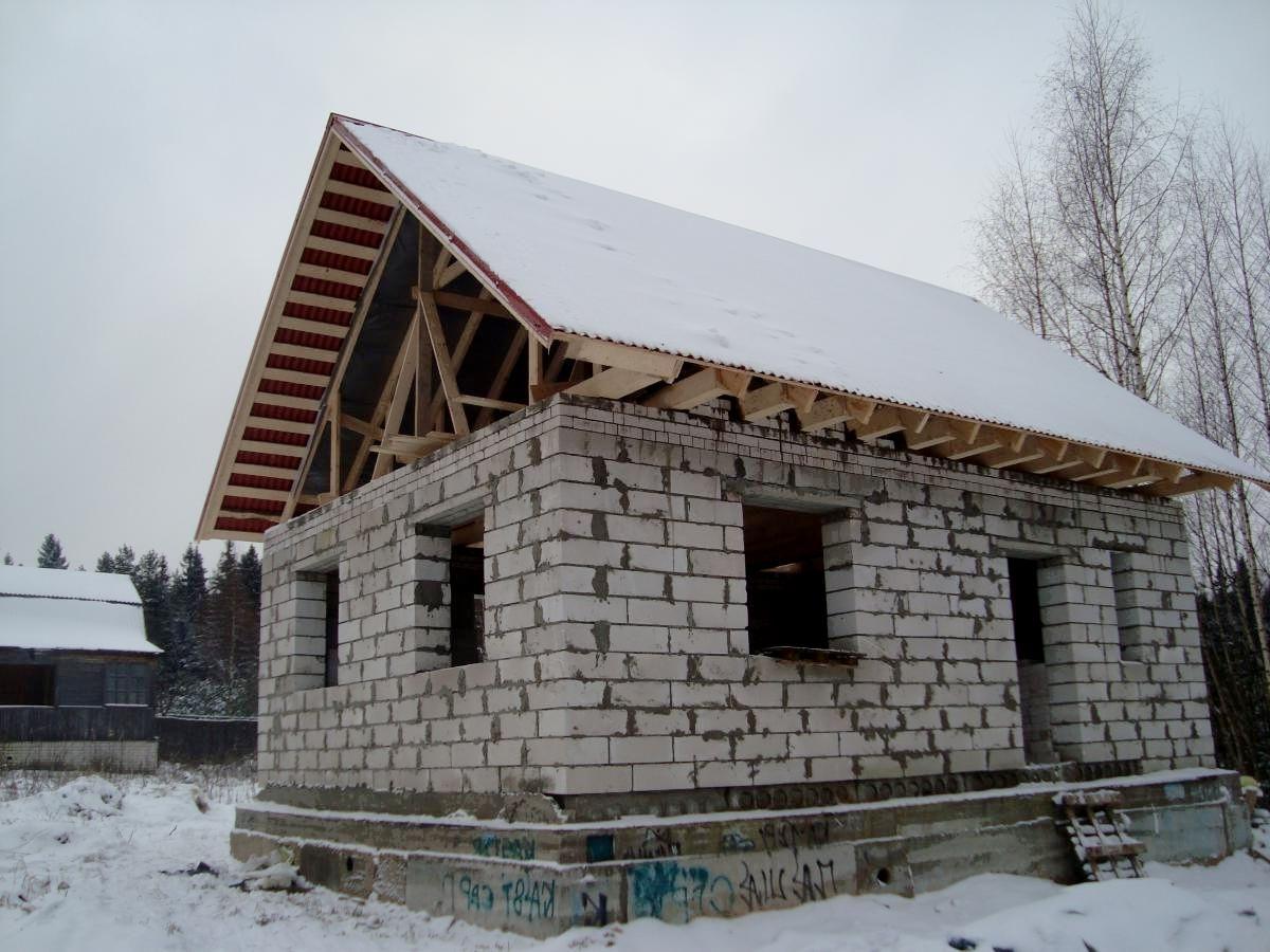 цивилизация дачный домик 4х6 из пеноблока страны Россия Республика