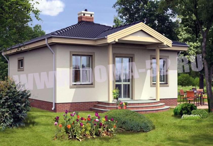 Проект дома DK85 - 73 м2