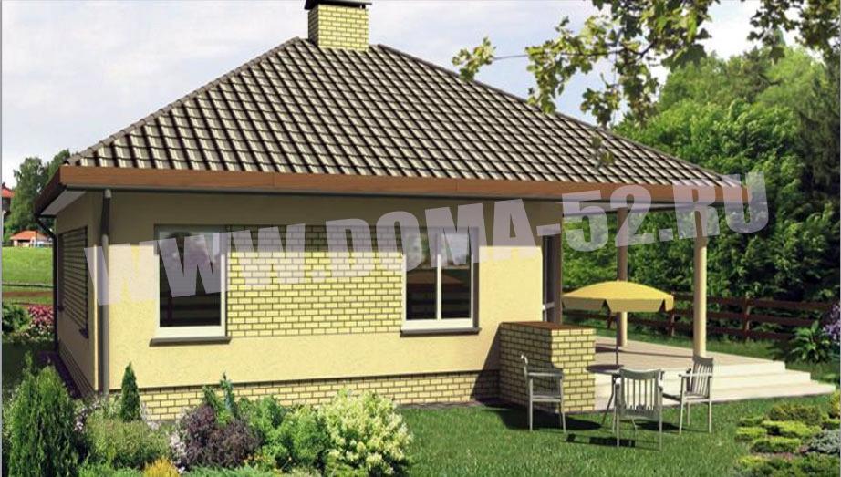 Проект дома DK116 - площадью 110 м2