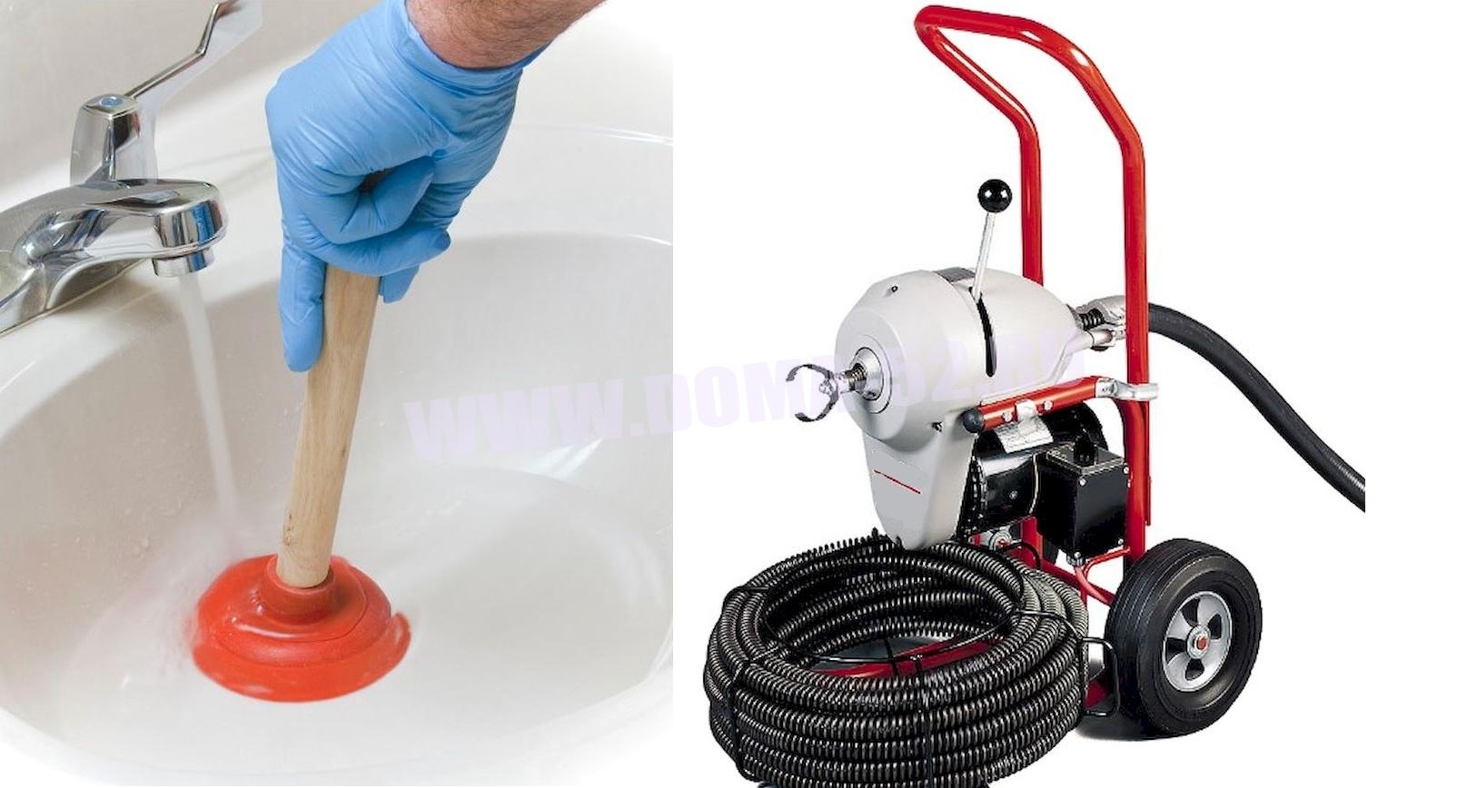 Прочистка канализации своими руками способы 807